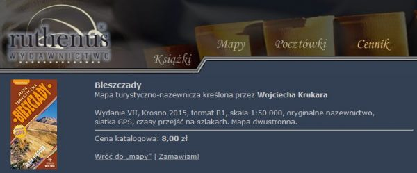 Ruthenus_mapa_Bieszczady_2015