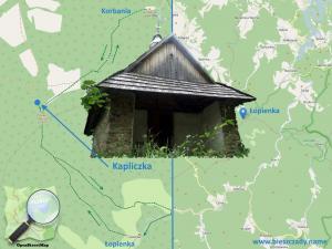 Hyrcza_kapliczka_mapa