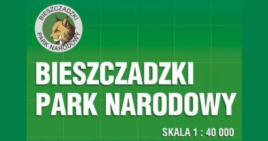 Bieszczadzki Park Narodowy – Mapa przyrodniczo-turystyczna + informator
