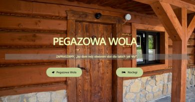 Pegazowa Wola – nowy adres strony i strona nowa